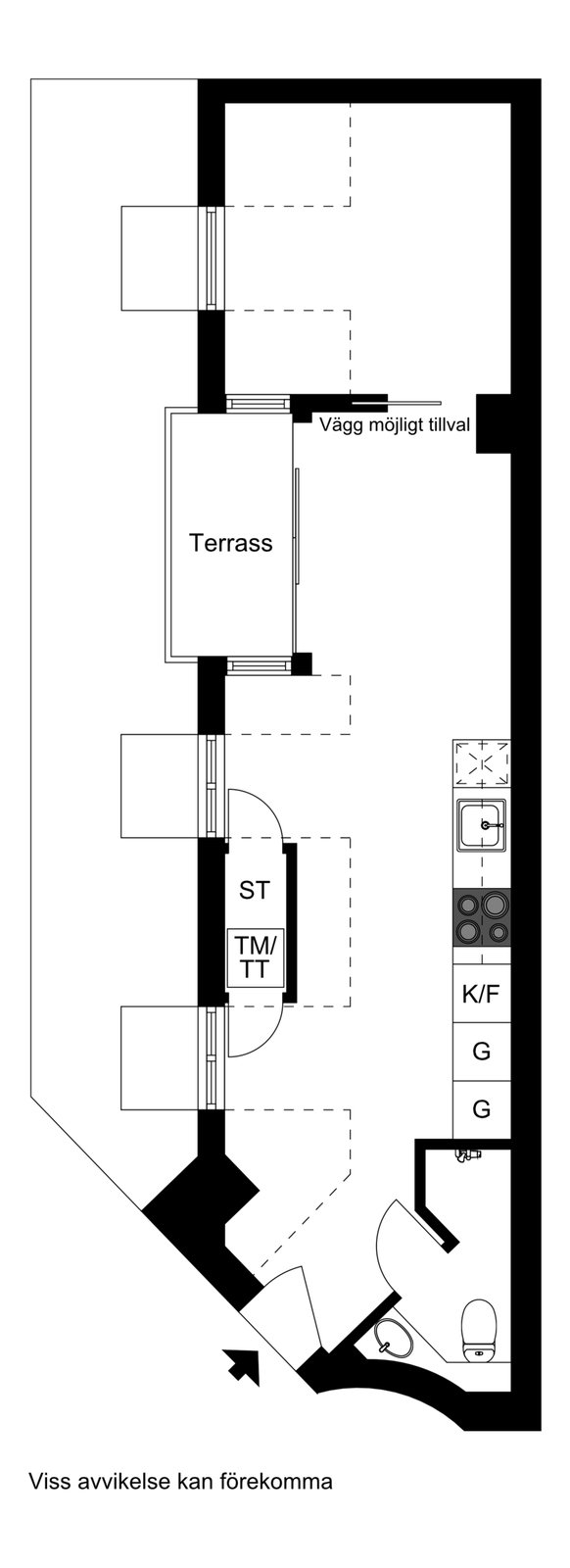 Pipersgatan 6A, 4 tr