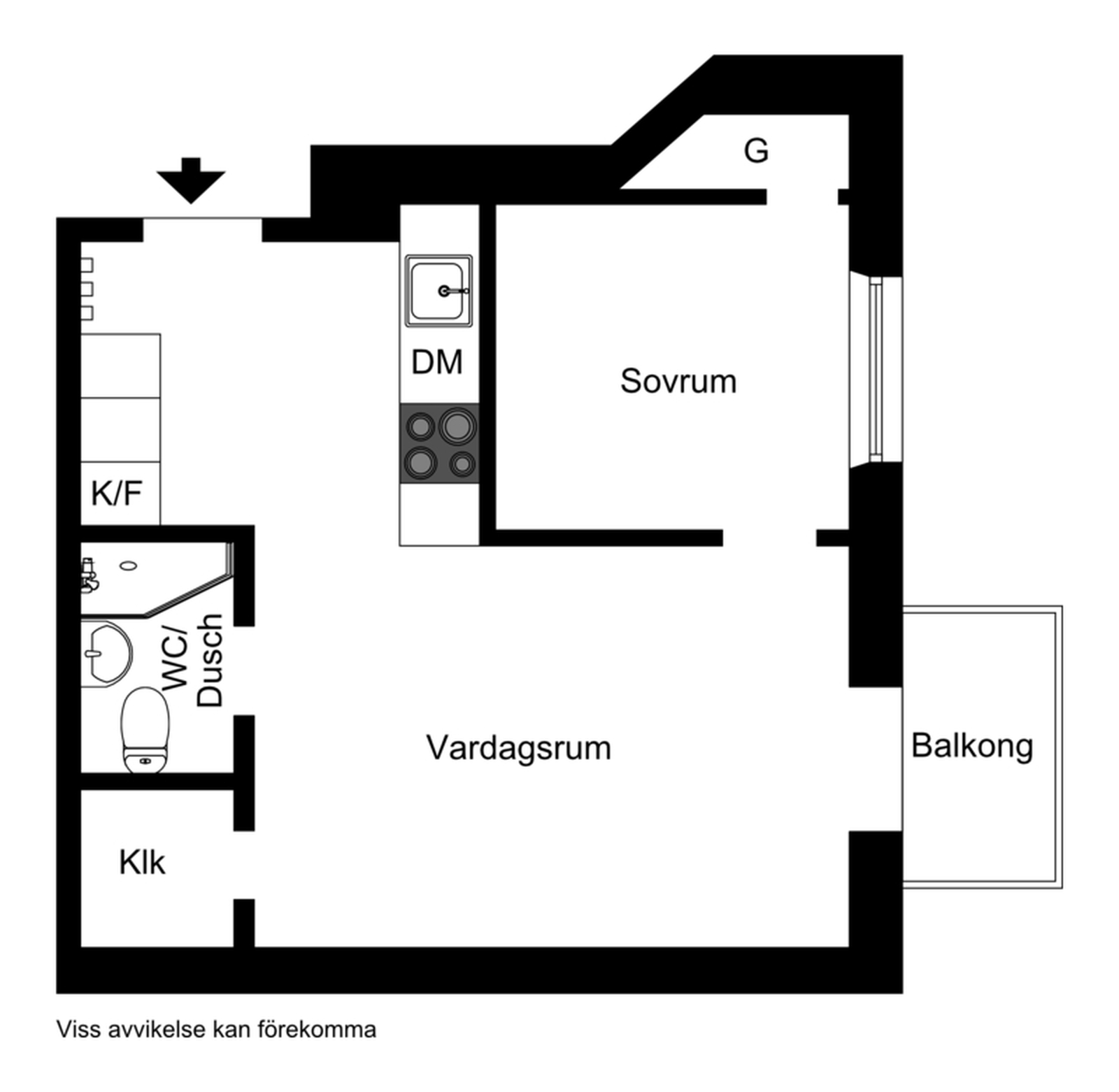 Sveavägen 95, 1,5 tr mot innergården