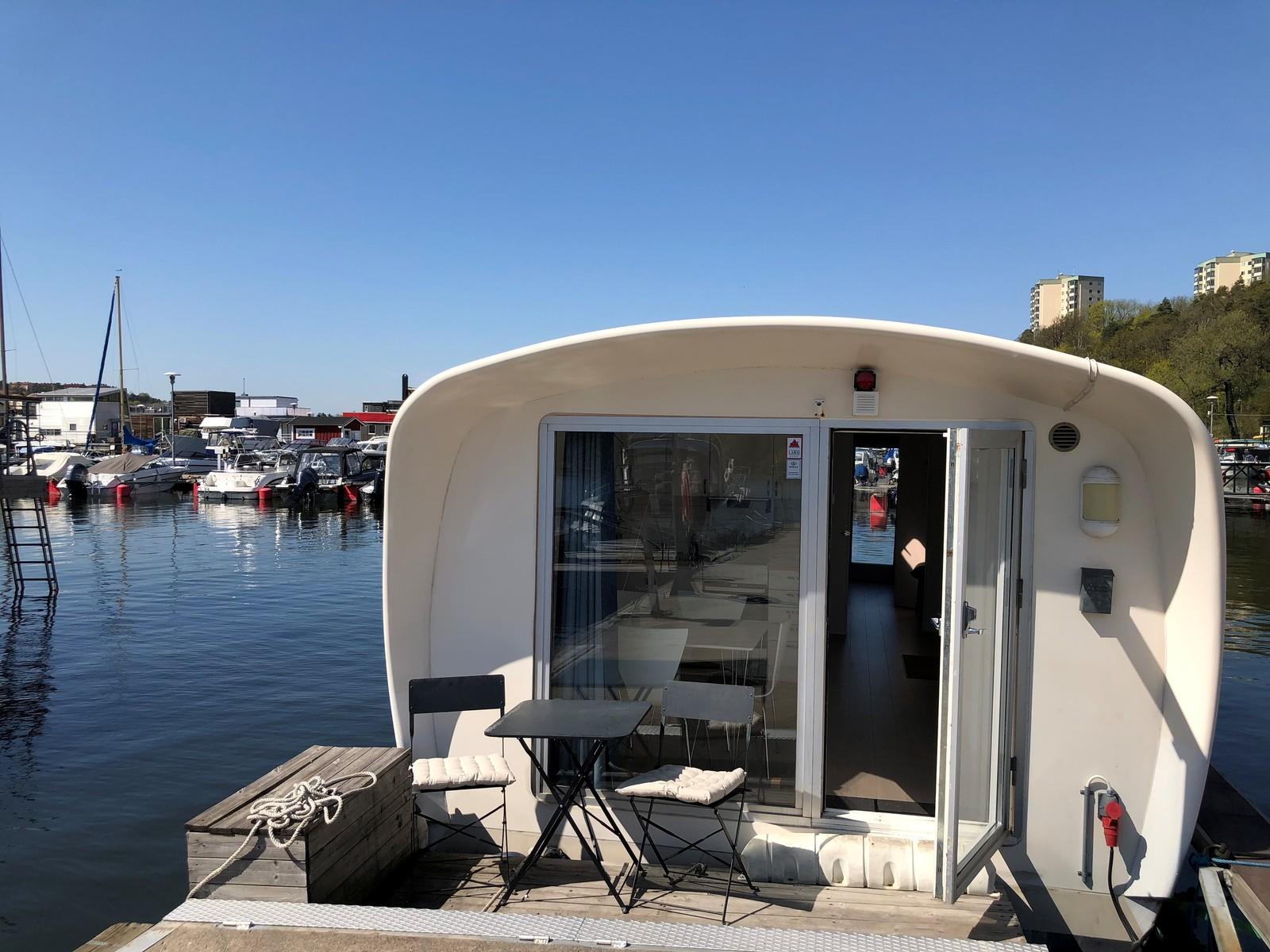 Pampas Marina Husbåt Brygga D59