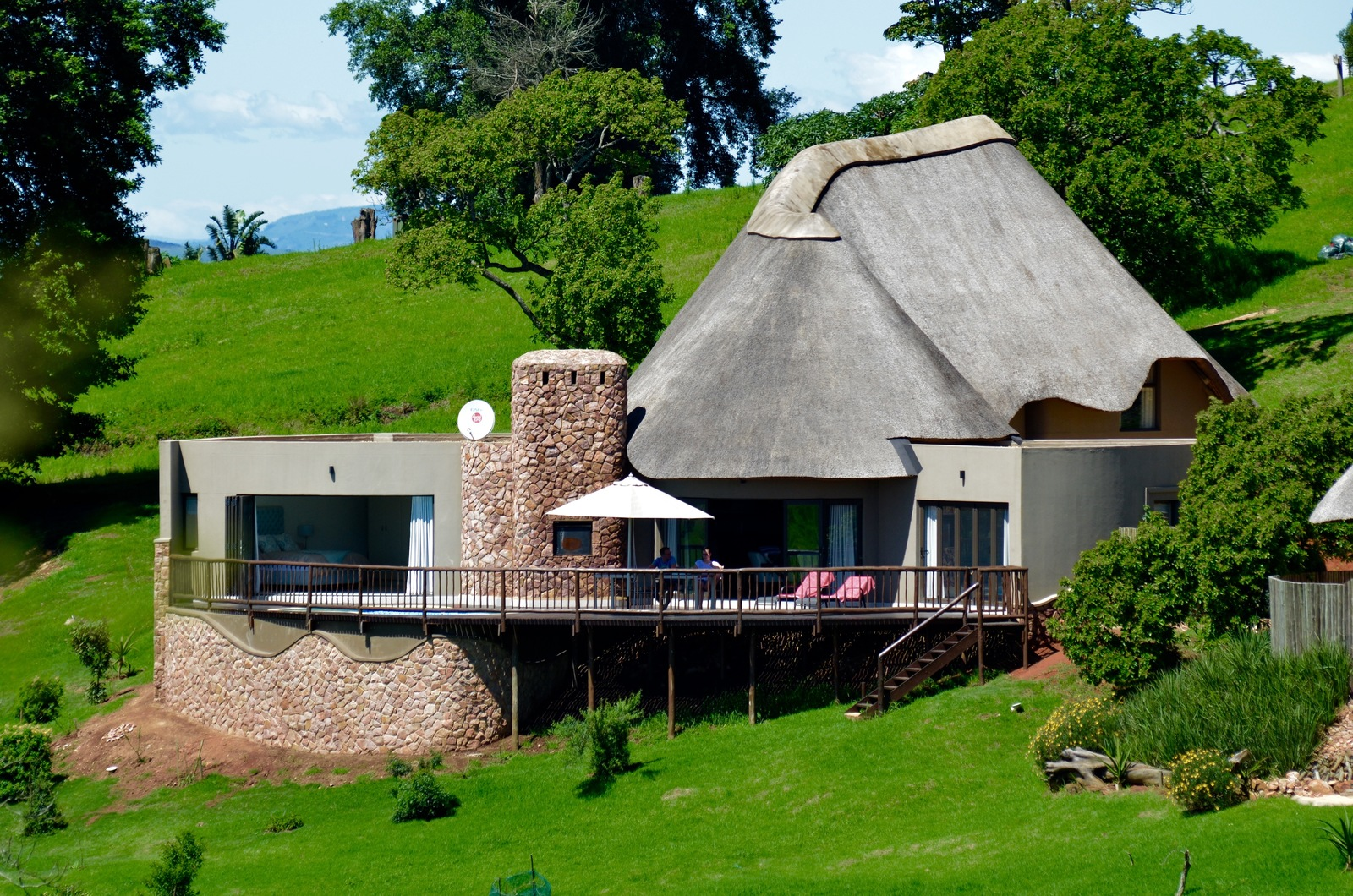 Sydafrika - Phezulu Game Estate -